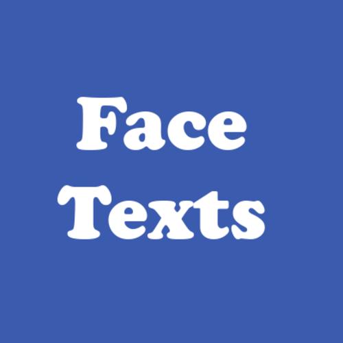 Facetexts blue cover